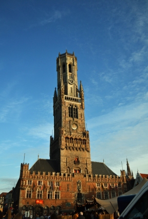 The Belfry of Bruges is from the 12th century